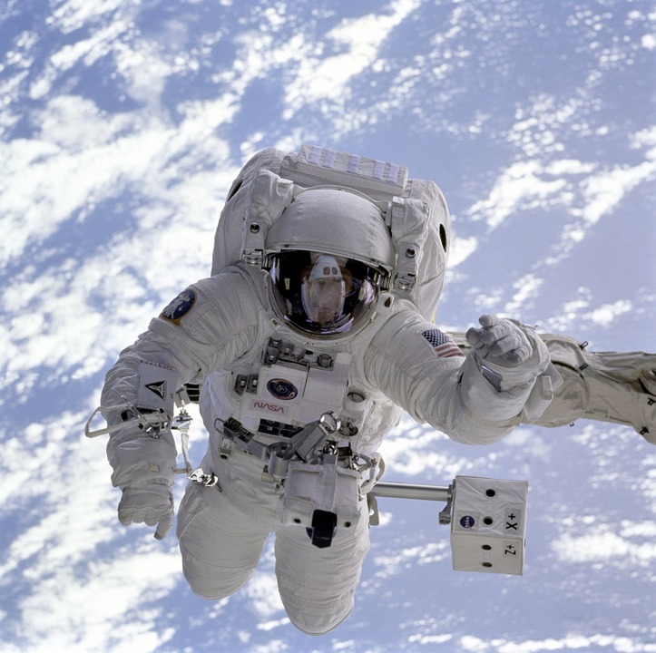astronaut space shuttle space walk - NASA Claimed DNA Ingredients Came from Space
